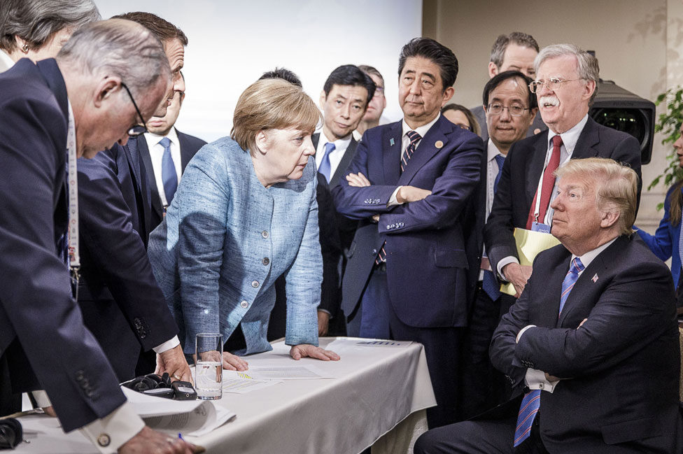 G7 summit in 2018 in Canada