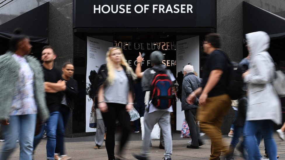 Mike Ashley blames greed for House of Fraser store closures