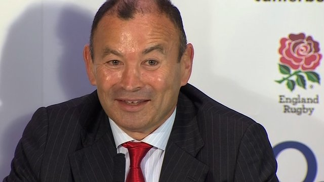 New England head coach Eddie Jones relishing 'great opportunity'