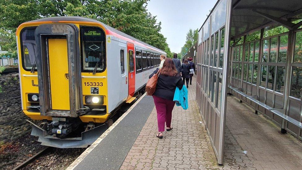 Cardiff Bay train station