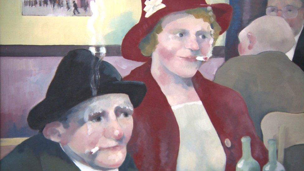 Boxer's family 'astounded' by huge art portfolio