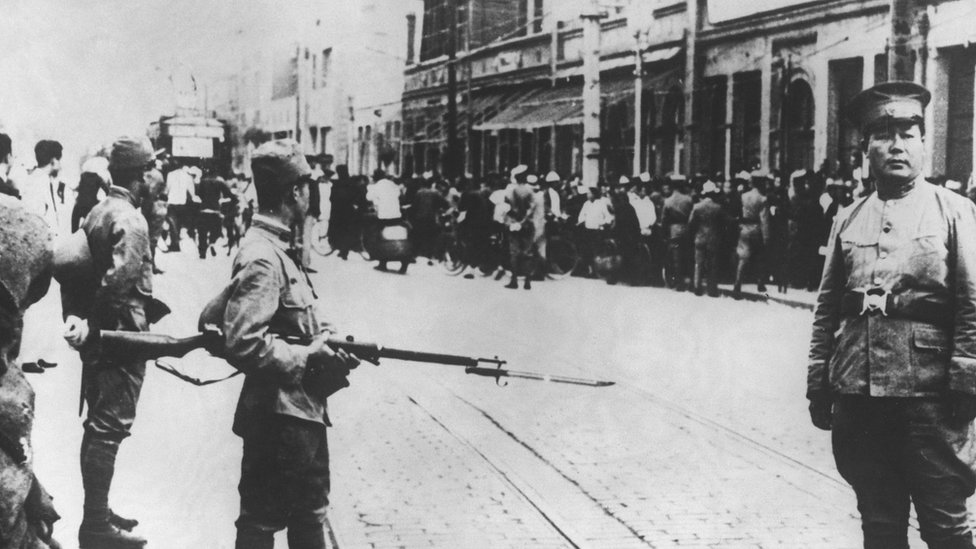二次世界大戰日軍佔領天津情況(1939)
