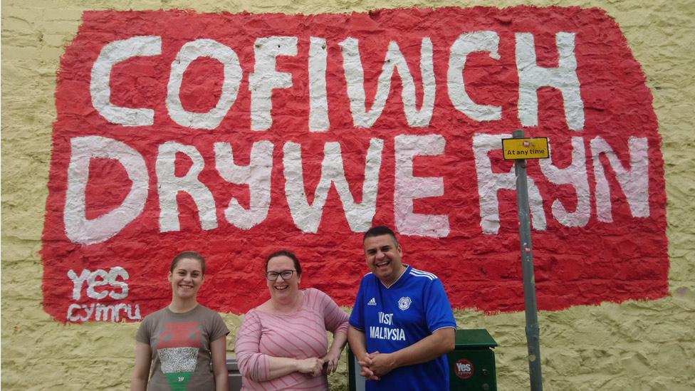 Bridgend couple ordered to remove replica Tryweryn mural