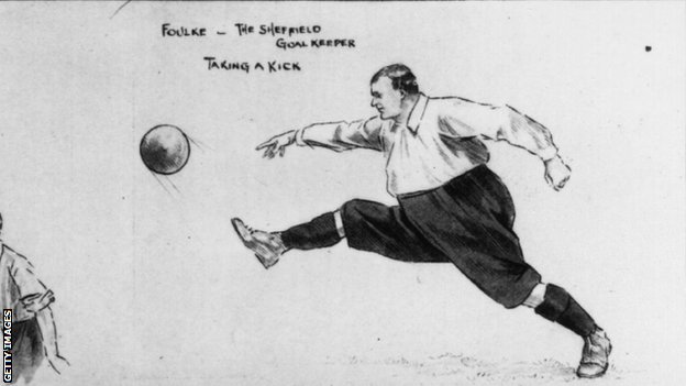 Illustration of William Foulke