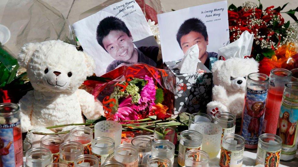 Peter Wang funeral