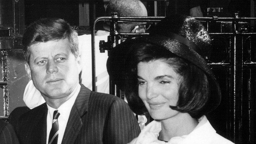 JFK y Jacqueline Bouvier