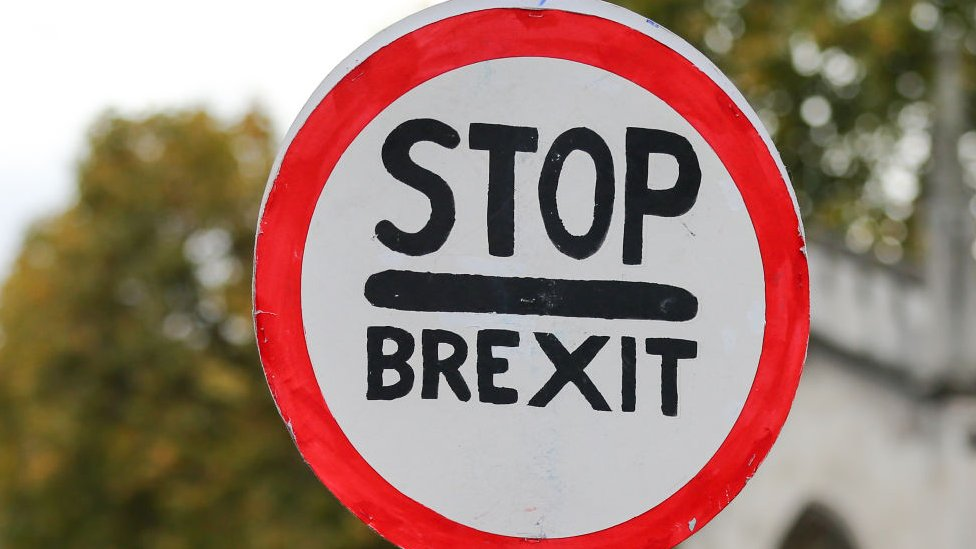 Stop Brexit sign