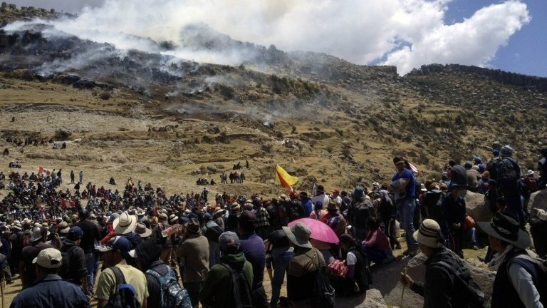 2015 Peruvian protests against Las Bambas mining project