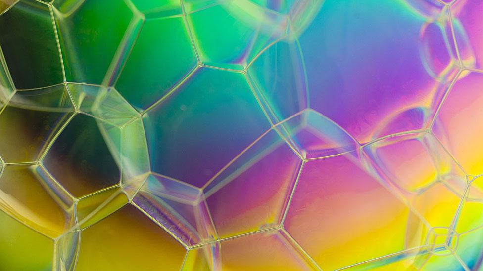 Burbujas juntas