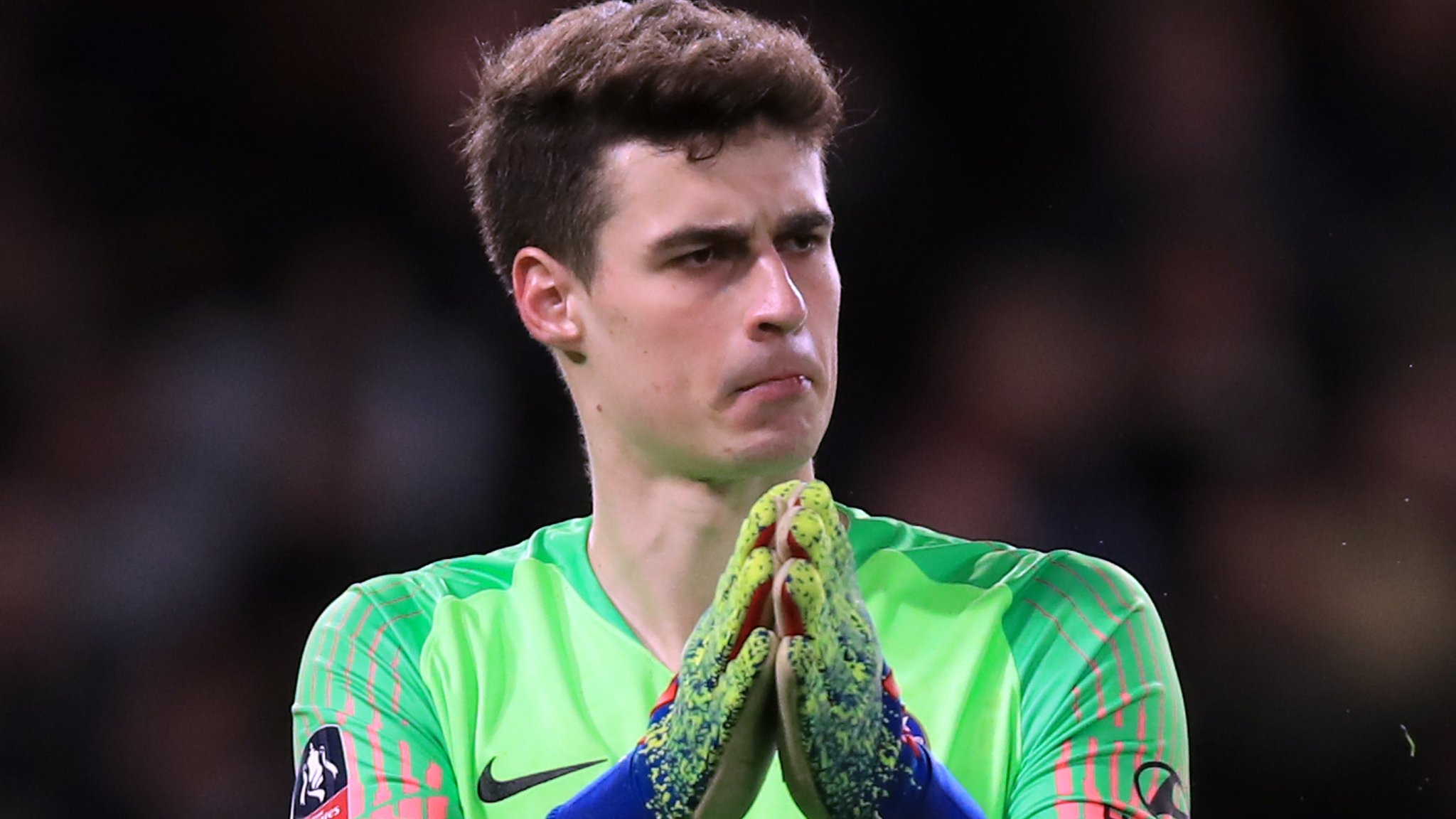 Chelsea v Malmo: Goalkeeper Kepa Arrizabalaga to miss game through injury