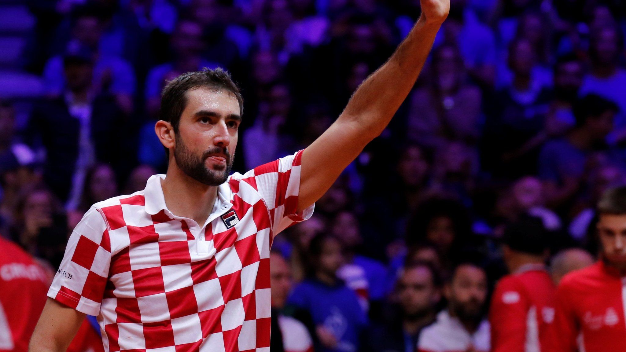 Cilic beats Pouille as Croatia win Davis Cup final