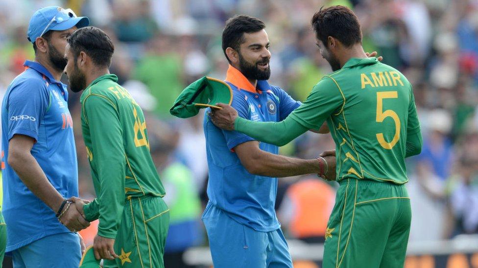 भारत-पाकिस्तान के खिलाड़ी