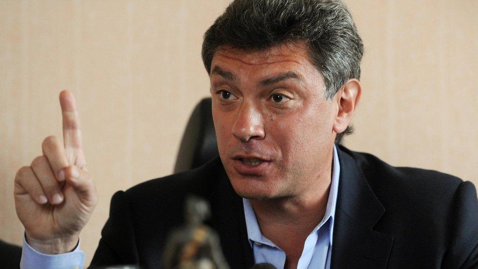 Boris Nemtsov, pictured in 2009