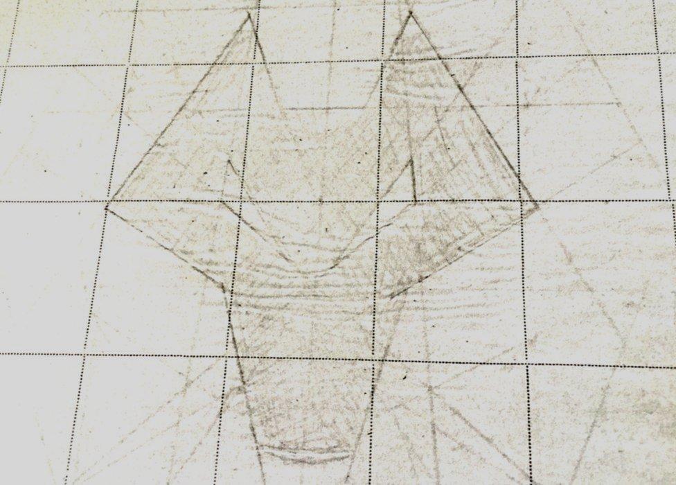 Mr Davies' original design
