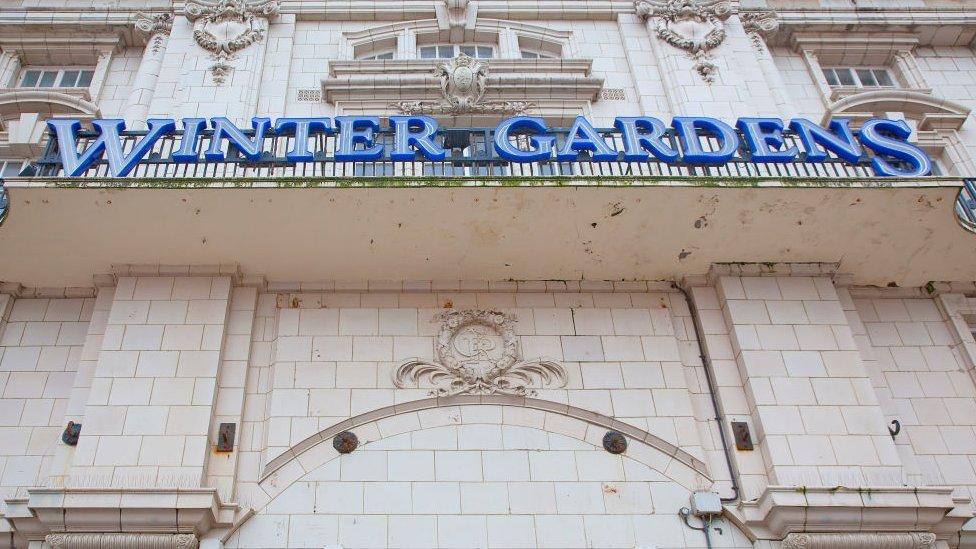 Blackpool's Winter Gardens