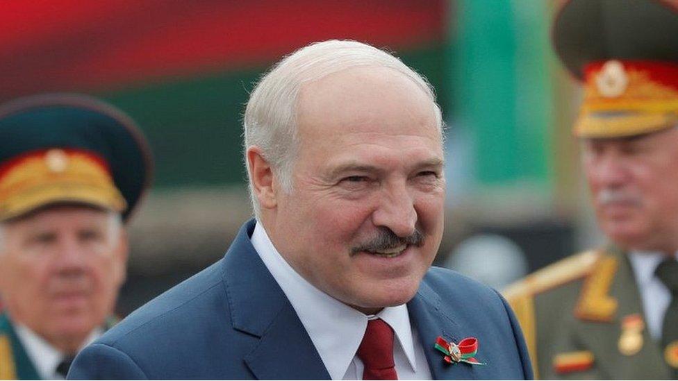 Alexander Lukashenko, 3 de julio de 2020.
