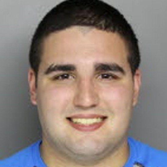 Cosmo DiNardo, whose parents own the farm being searched, was arrested on unrelated charges