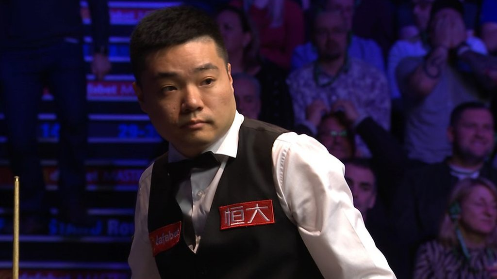 Masters 2019: Ding Junhui forfeits frame against Luca Brecel