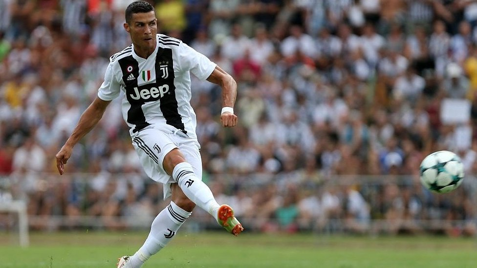 Cristiano Ronaldo at Juventus: Former Real Madrid forward scores in first game
