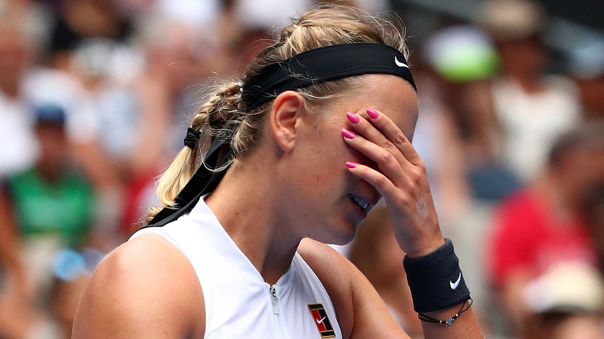 Australian Open: Victoria Azarenka 'struggling' but will 'come back stronger' after loss