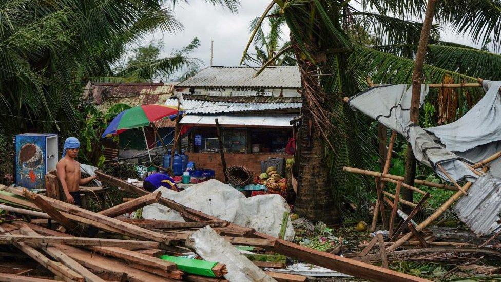 Residente en la ciudad de Tacloban.
