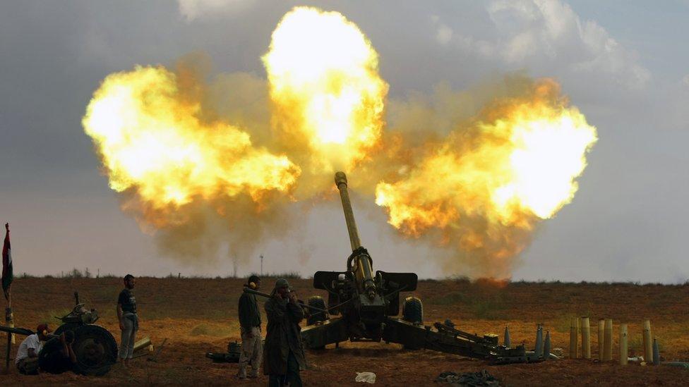 Libia ha estado sumido en el caos desde que cayó Muamar Gadafi.