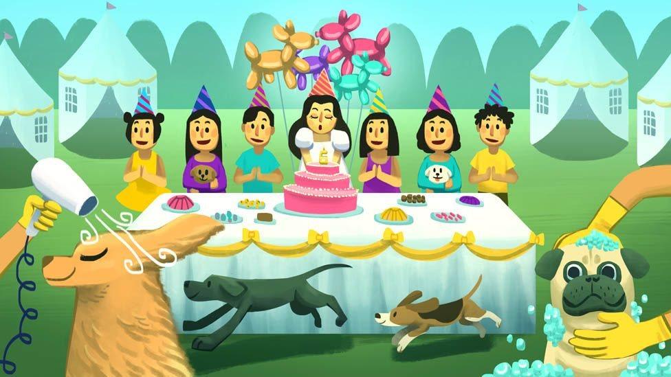 Ilustrasi foto ulang tahun anak orang super kaya.