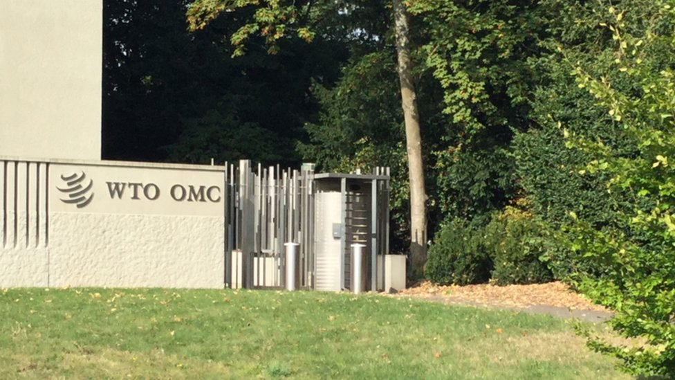 World Trade Organization headquarters in Geneva