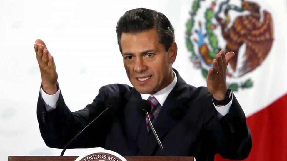 Mexican President Enrique Pena Nieto. Photo: March 2016