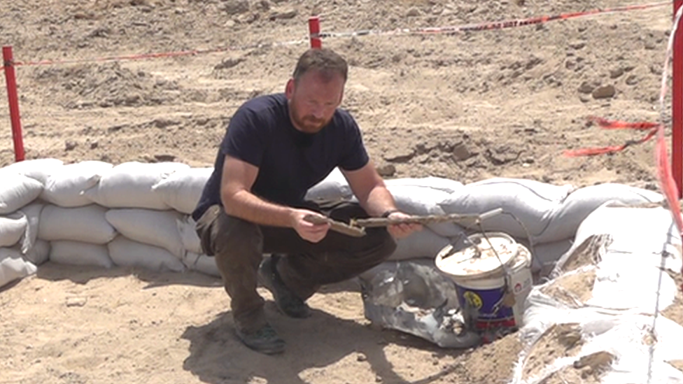 Experiencing the work of a landmine clearance charity