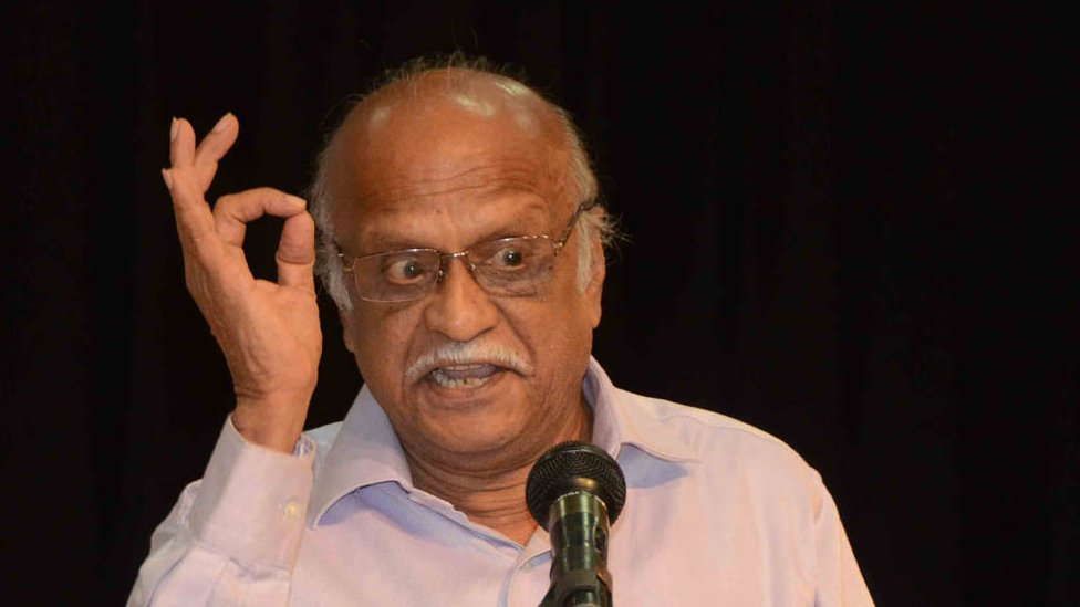 Malleshappa Kalburgi delivering a lecture