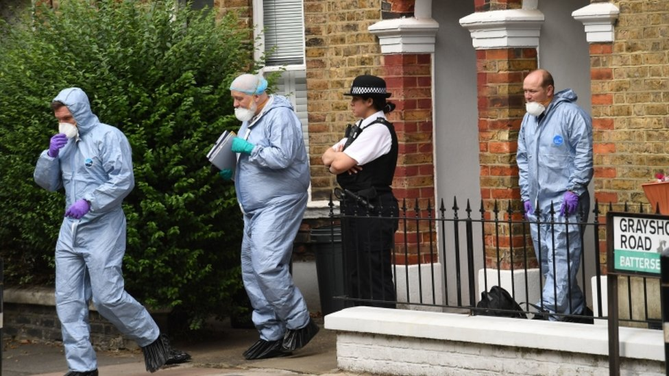 Forensics in London