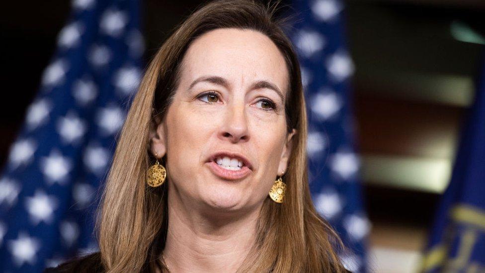 Congresista por Nueva Jersey Mikie Sherrill