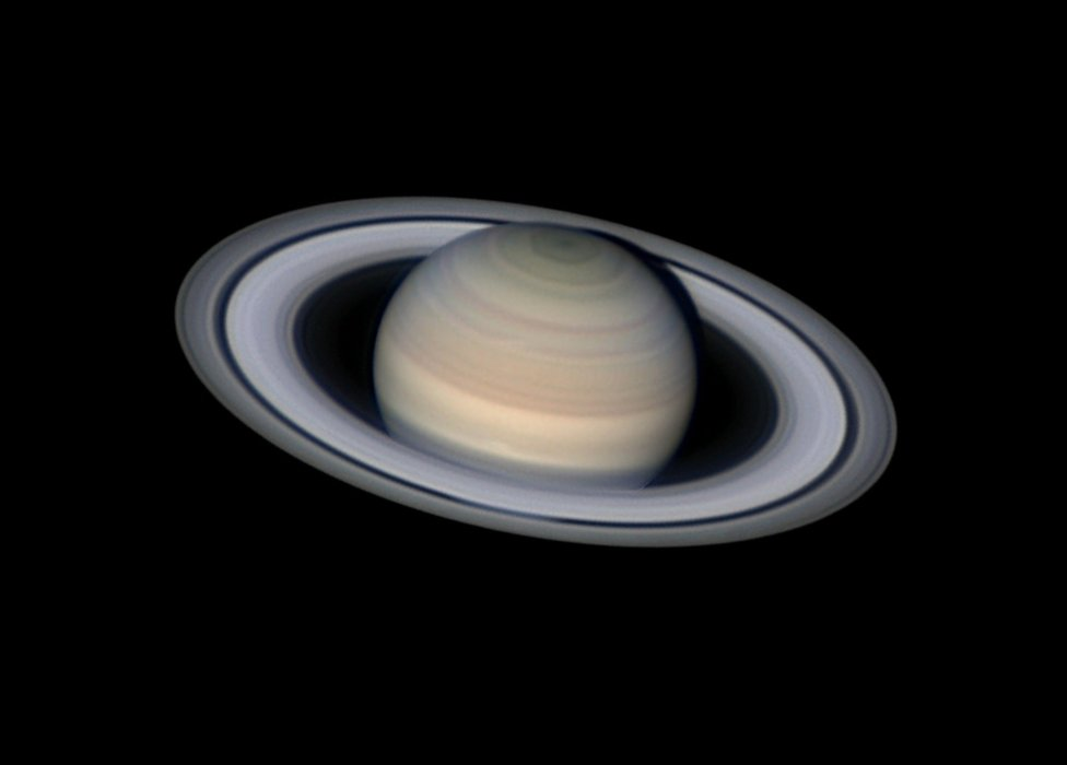 Serene Saturn by Damian Peach