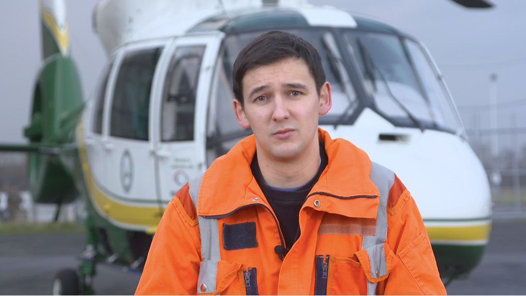 Air ambulance: Life on the front-line