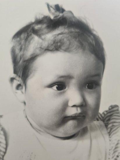 Mariela de pequeña