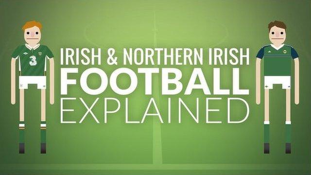 Irish and Northern Irish football explained