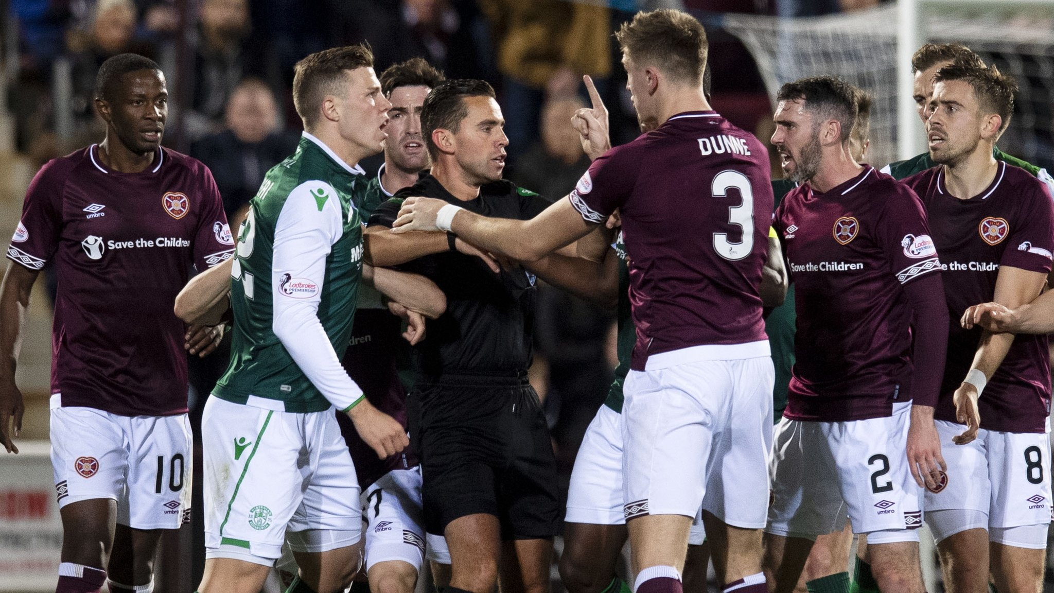 Levein critical of SFA charge over derby 'confrontation'