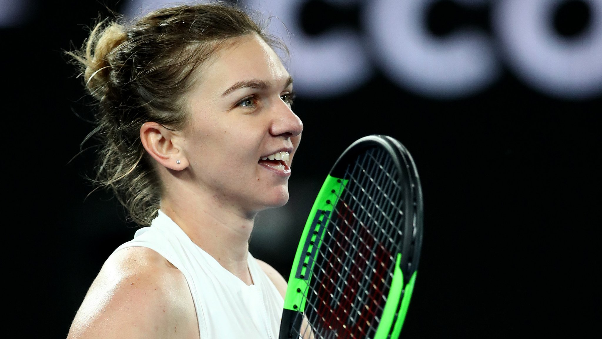 Australian Open 2019: Simona Halep survives scare to beat Sofia Kenin to advance