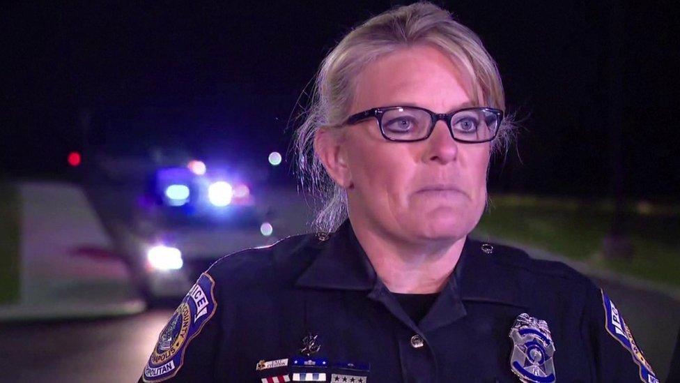 المتحدثة باسم شرطة إنديانابوليس جيني كوك