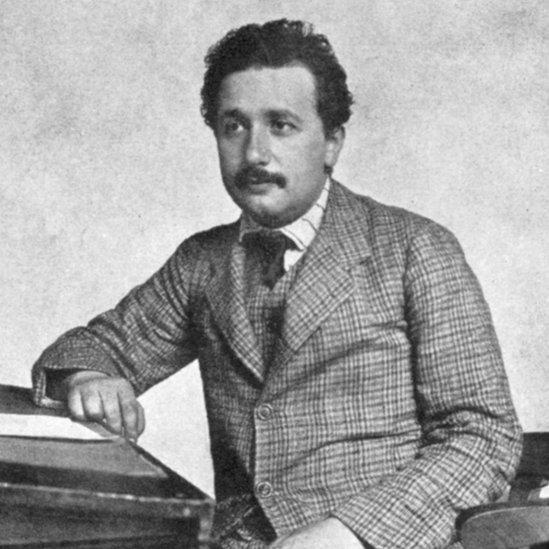 Einstein de joven.