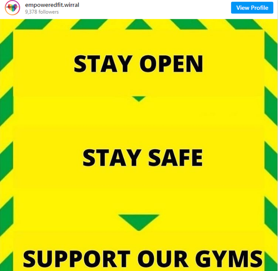 EmpoweredFit is pushing its message on Instagram