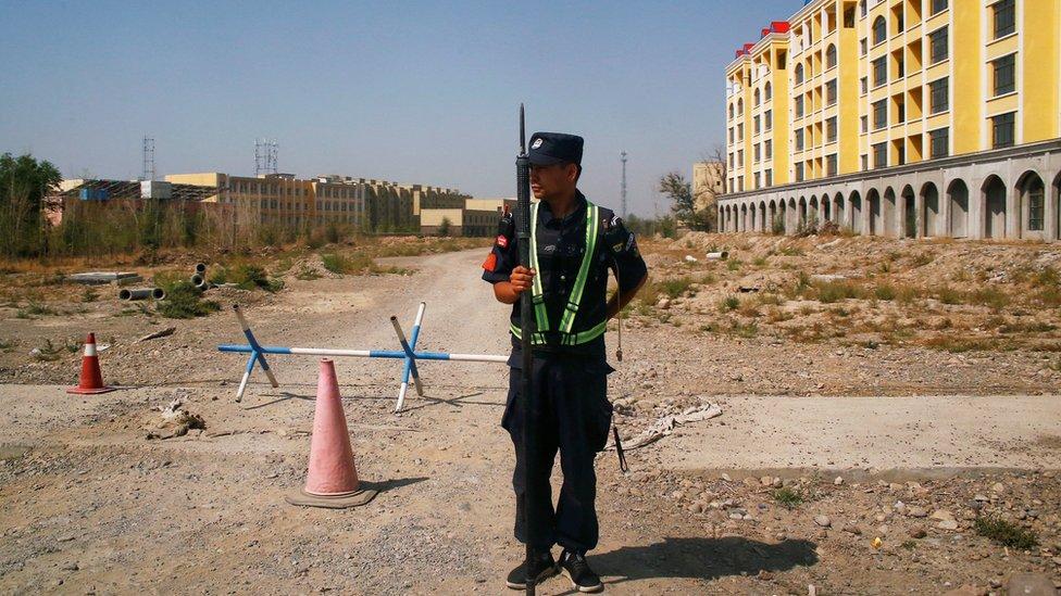 China mengatakan fasilitas untuk Uighur adalah untuk pendidikan ketrampilan. (Foto arsip)