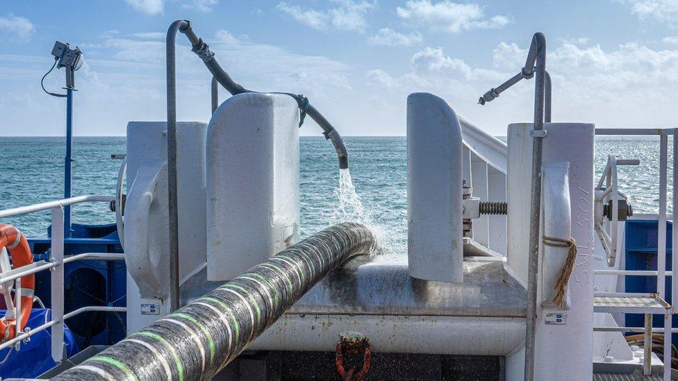 undersea cable.