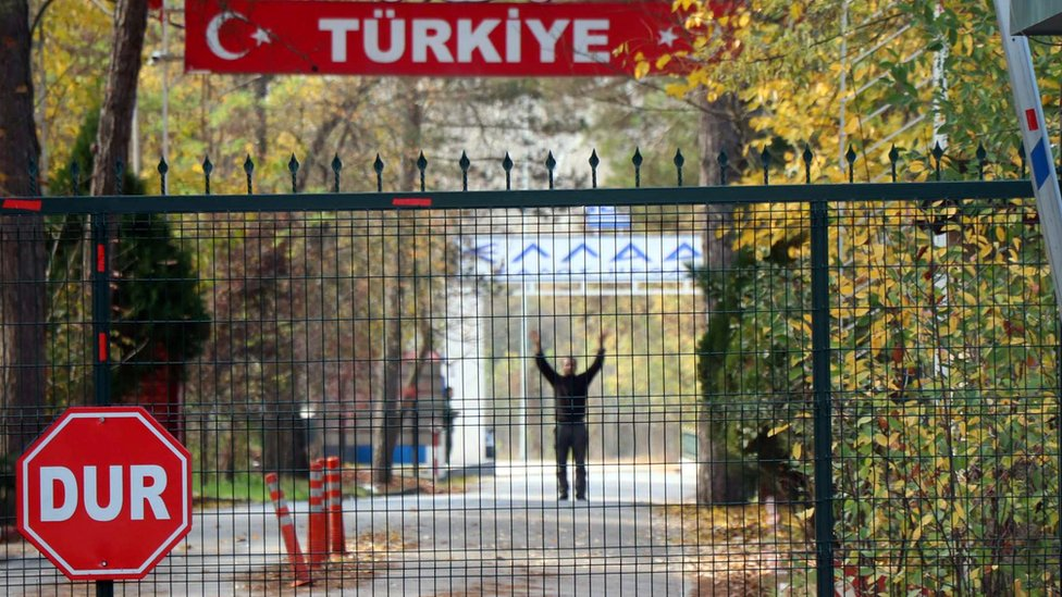 Greece Turkey border
