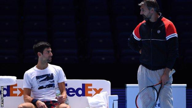 Djokovic and Ivanisevic