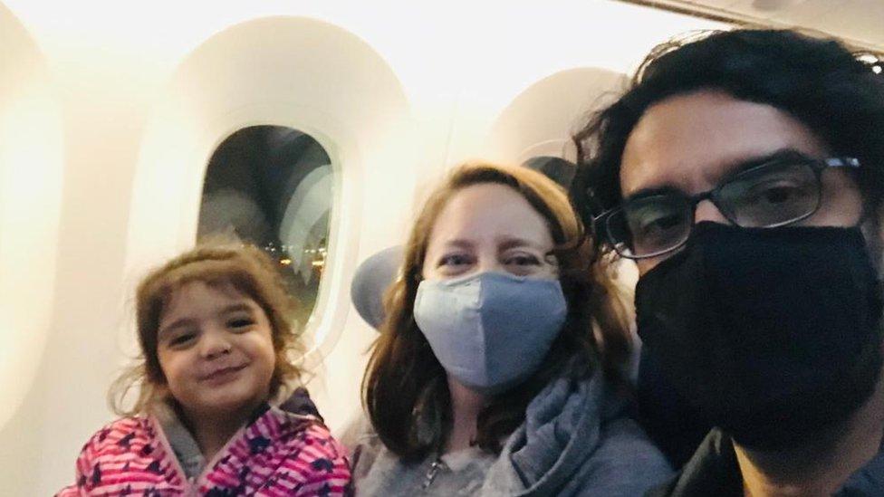 La familia de Carla Banfi