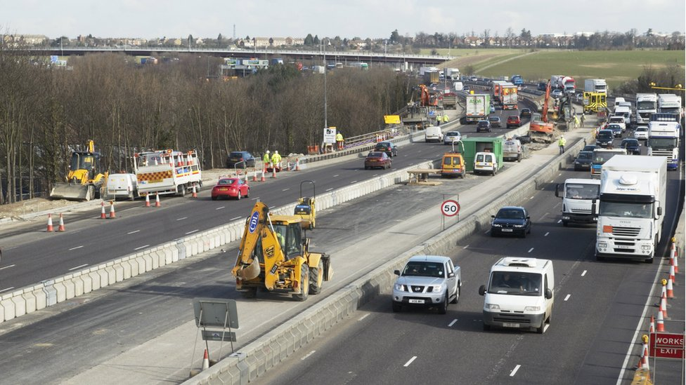Higher Sunday roadworks speed limit tested