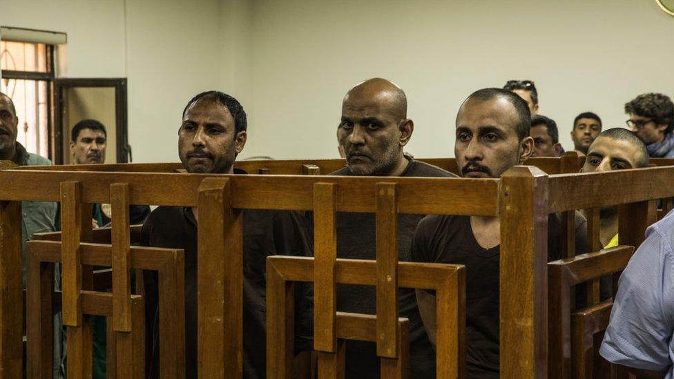 Cuatro integrantes de EI son enjuiciados en el Tribunal Central de Bagdad
