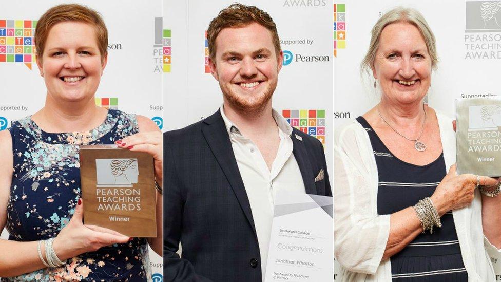 Pearson Teaching Awards reveals 2018 winners